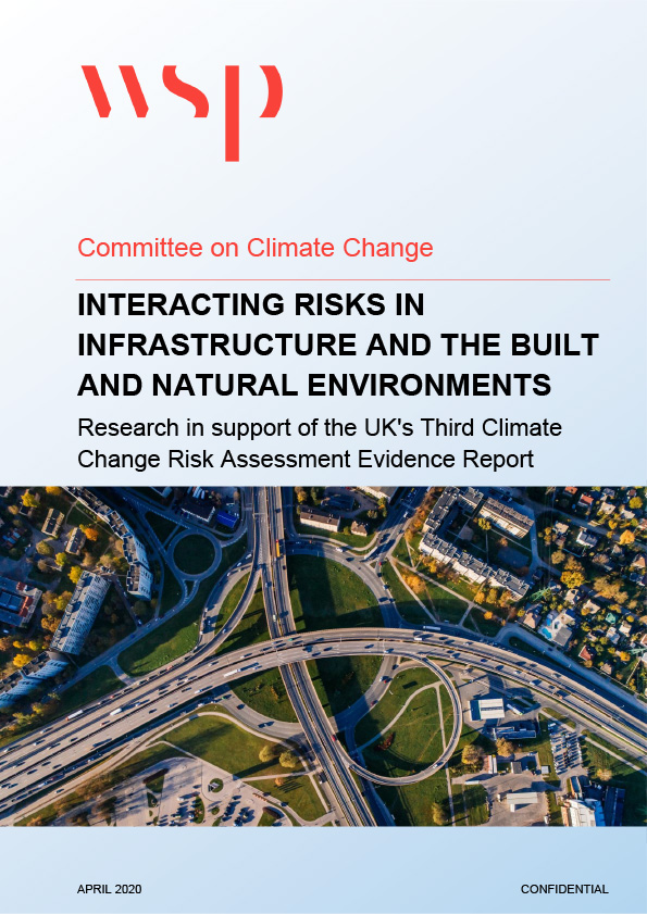 Front cover of Interacting risks in infrastructure, the built and natural environments