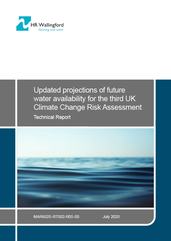 Front cover of Projections of Future Water Availability