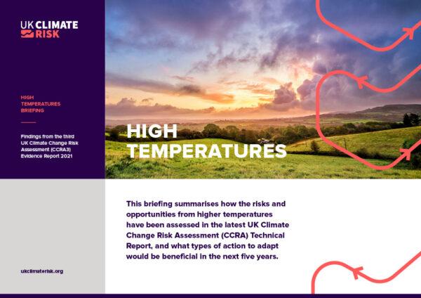 High Temperatures Briefing